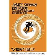 Alfred Hitchcock Vertigo Movie Poster 24x36