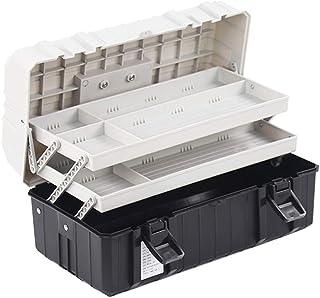 Tool Organizers Three-layer Folding Hardware Plastic Toolbox Multi-function Portable Tool Storage Box for Household Tool P...