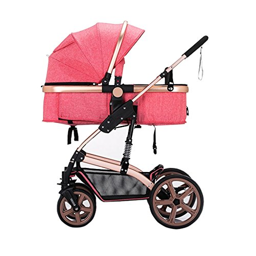 Purchase HAMIMI Stroller High Landscape Can Sit Reclining Winter and Summer Folding Stroller Strolle...