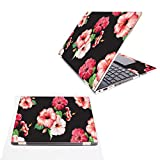 Mightyskins Skin Compatible with Hp Spectre X360 15.6' (2018) - Hibiscus | Protective, Durable, and Unique Vinyl Decal Wrap Cover | Easy to Apply, Remove, and Change Styles | Made in The USA