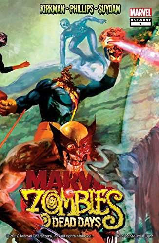 Download Marvel Zombies: Dead Days (English Edition) B00ZNQ3OU4