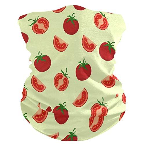 Süße Malerei Frucht Tomate Gesichtsmaske Kopftuch Bandanas Stirnband Schlauchtuch Männer Frauen Kopfbedeckang Halstuch Gesichtsschal Den Sport