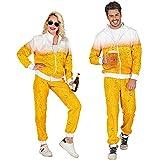 Widmann 97192 97192 Costume d'entrainement des années 80 Bière, veste et pantalon,...
