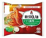紀文【糖質0g麺 】 トマト風味ソース付き 1ケース(6パック)