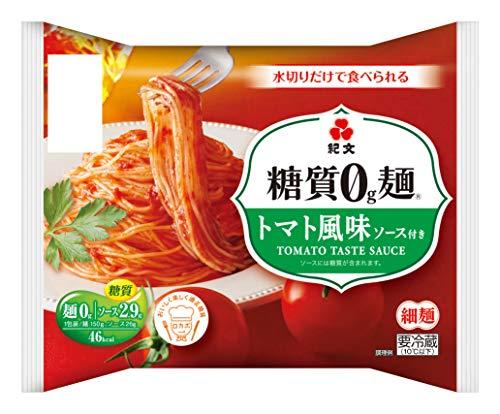 紀文『糖質0g麺 トマト風味(カップ付)』