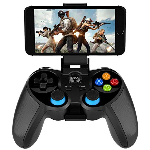IPEGA PG-9157 inalámbrico 4.0 Gamepad Trigger Pubg Controller Joystick compatible con Android/iOS para iOS iPhone, iPad, teléfono Android, tabletas, Smart TV, TV Box