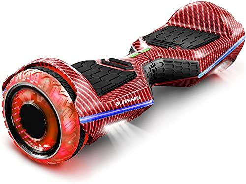 """6,5"""" Premium Hoverboard Bluewheel HX360   Deutsches Qualitätsunternehmen   Infinity LED Reifen & APP  Kinder Sicherheitsmodus  Bluetooth Lautsprecher  Self Balance Scooter mit leistungsstarkem Motor"""