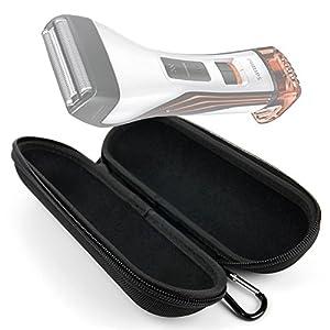 DURAGADGET Estuche/Funda rígida para maquinilla de Afeitar/Corta Pelo Philips BodyGroom BG2026/15, TT2040/32, Series 1000, StyleShaver QS6141/32, HAIRCLIPPER Series 9000 HC9490/15