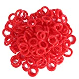 Braylin 150Pcs Mechanical Keyboard Silicone O-Ring Ultra-Quiet Switch Dampener, for Cherry MX Key Switch Keyboards Dampers