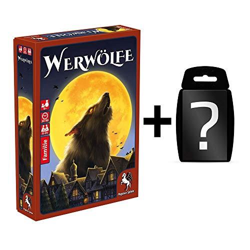 Unbekannt Werwölfe - Neuausgabe - Kartenspiel Brettspiel | Familienspiel | Deutsch | Set inkl. Kartenspiel