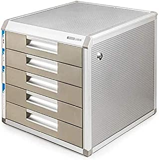 Armoire de rangement avec tiroir coulissant Blanc 4-Layers