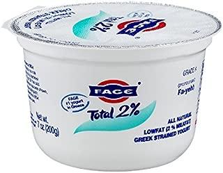 Fage Total Greek 2% Greek Yogurt, 7 Ounce (Pack of 12)