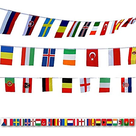 International Flags G2plus 164 Feet 8 2 X 5 5 World Flags 200 Countries Olympic Flags Pennant Banner For Bar Party Decorations Sports Clubs Grand Opening Festival Events Celebration Garden Outdoor