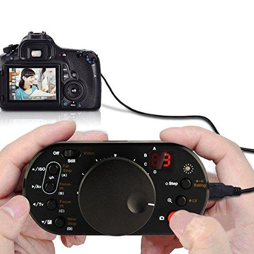 YOUZHIXUAN Accesorio V-Control USB Focus Controller for Canon EOS 1D Mark IV...