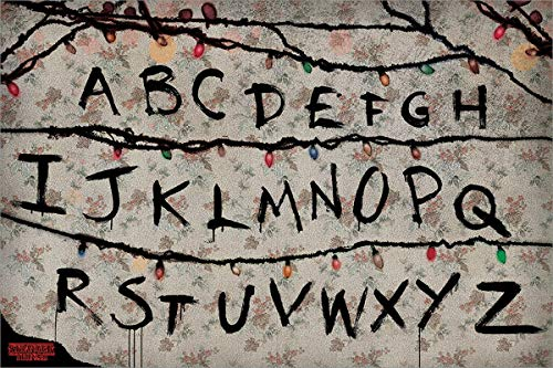 Stranger Things Poster multicolore, 61 x 91,5 cm