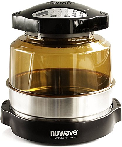 NuWave Oven Pro Plus with Stainless Steel Extender Ring