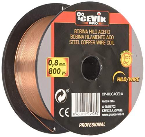 Cevik CE-HILOACE0,8 - Bobina hilo acero 0,8 mm. 800 gr.