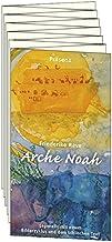 Arche Noah: Leporello mit einem Bilderzyklus und dem biblischen Text