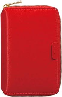 マークス システム手帳 ミニ6 バインダー レッド ODR-DC09-RE