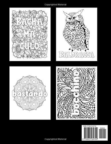 Porca miseria! Parolacce Da Colorare Album Da Colorare Per Adulti: 30 insulti da colorare - Libri da Colorare per Adulti Mandala, Fiori, Geometria ... via l'Ansia e lo Stress (Italian Edition)