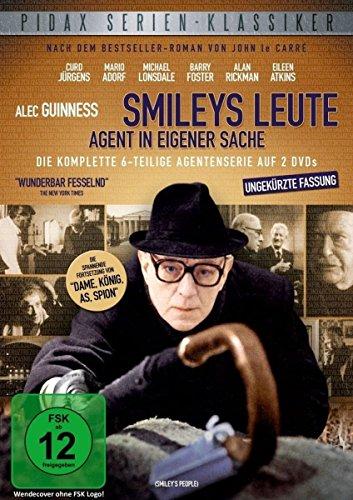Smileys Leute: Agent in eigener Sache - Die komplette 6-teilige Agentenserie (Pidax Serien-Klassiker) [2 DVDs]