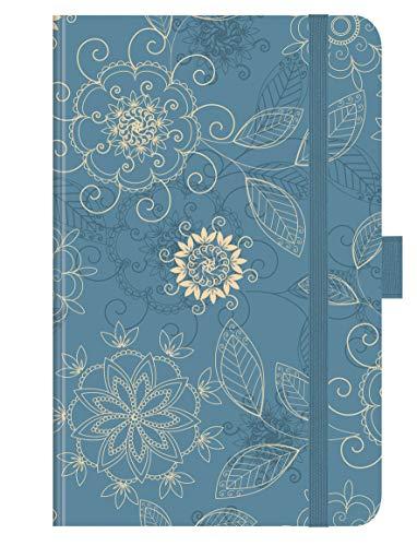 """Premium Timer Small \""""Arabesk\"""" 2020: Buchkalender - Terminplaner mit hochwertiger Folienveredelung und Prägung. 9 x 14 cm"""