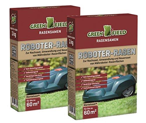 Greenfield Roboter Rasen Mantelsaat 2 kg Sparpack