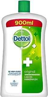 Dettol Original Germ Protection Handwash Liquid Soap Jar, 900ml