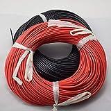 MCYNQ Cable de silicona flexible trenzado, cables de cobre para cableado RC 12awg 14awg 16awg 18awg 20awg AWG 20m Gauge, 12 AWG, 20 m