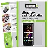 dipos I 2X Schutzfolie matt kompatibel mit Alcatel Idol 4S Folie Bildschirmschutzfolie