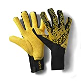 PUMA Future Grip 5.1 Hybrid Guantes De Portero, Unisex-Adult, Ultra Yellow Black White, 8