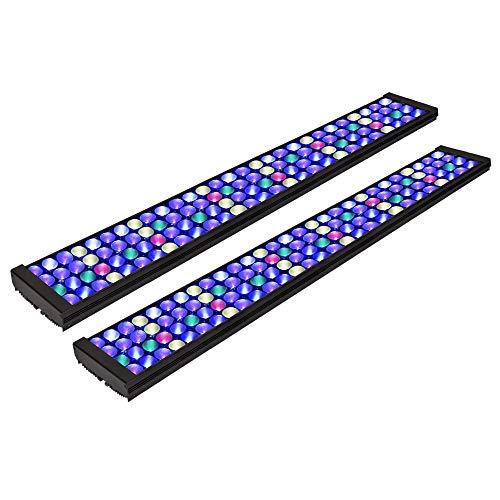 PopBloom T75 Reef Marine Aquarium Led Lighting Aquarium Plant Light Reef Lighting with Smart Controller (Two Panel)