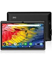 ANTEMPER 7 Pollici Tablet Android 10.0,16GB Espandibile fino a 128GB,1 GB RAM,Quad Core,WiFi,Bluetooth,1024*600 IPS HD Display,Doppia Fotocamera,Leggero e compatto,per Bambini e Adulti