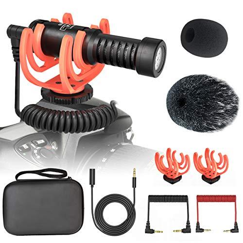 Professional Camera Video Microphone Interview Shotgun Mini External...
