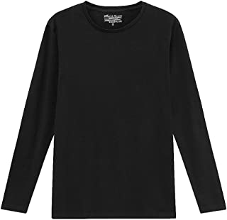 Bread and Boxers Slim Fit Organic Cotton Long Sleeve T-Shirt (116)