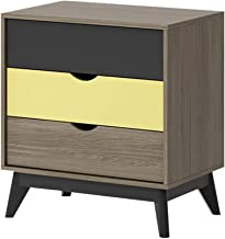 Bedside Table Bedside Table, Mini Small Apartment, Simple Modern Bedroom, Large Capacity Bedside Storage Cabinet, Suitable...