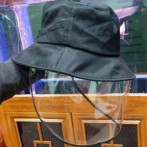 FHMZ Multifunktionshut, wasserdichter und staubdichter Herren- und Damenhut für den Außenbereich, schwarz