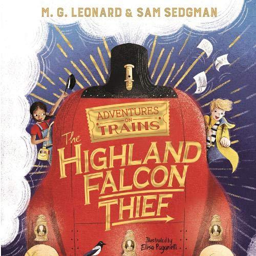 Couverture de The Highland Falcon Thief