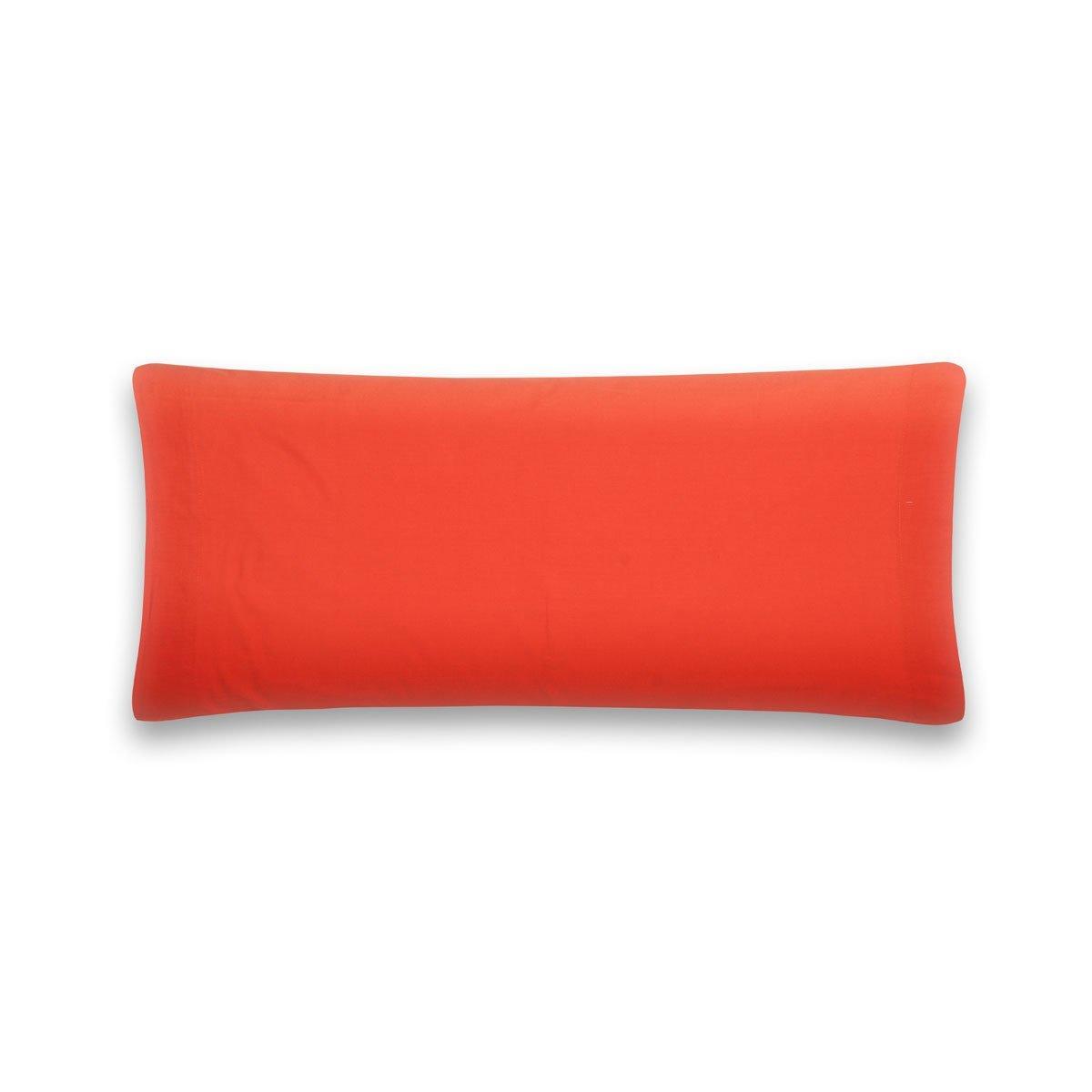 Sancarlos - Funda de almohada para cama, 100% Algodón percal, Color naranja, Cama de 135 cm: Amazon.es: Hogar
