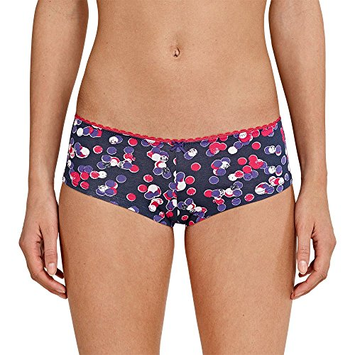 Uncover by Schiesser Damen Uncover 2pack Cheeky Pants Hipster, Mehrfarbig (Sortiert 1 901), 40 (Herstellergröße: L) (2erPack)