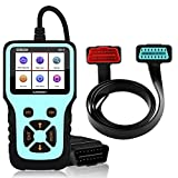 ICARMAINT Car OBD2 Code Reader Enhanced OBDII Scanner Tools Engine Fault Code Reader Engine Light Error Analyzer Diagnostic Scanner for Clearing Fault Code and Checking Engine/Battery/Exhaust System