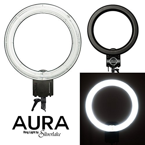 Aura Ring Light - Large, 19-Inch, 55W Soft Fluorescent Ring Light for Pro Studio Lighting - Shadowless Studio Lighting for Videos, Still Photography, YouTube Videos, Vlogging, Portraits & More