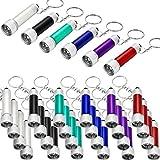 30 Stücke Mini LED Taschenlampen Schlüsselbund Tragbare 5 Glühbirne LED