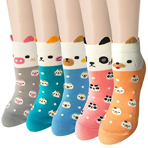 Adorable animal socks for teens - Gift Ideas for a Teenager in the Hospital