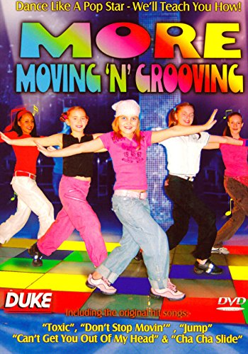 More Moving \'N\' Grooving - Dance, Fun & Fitness for Kids - \'Dance like a pop star and we will teach you how\' [DVD] [Reino Unido]