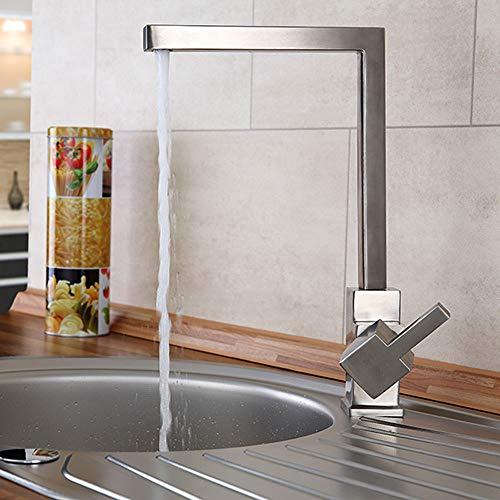 Sanlingo – Küchenarmatur aus Edelstahl mit 360° Schwenkauslauf - 2