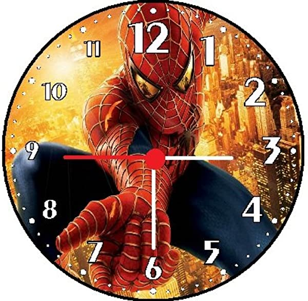 Rusch Inc Spiderman Wall Clock