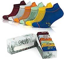 GoWith 6'lı Renkli Bambu Performans Erkek Patik Çorabı Kutulu Set 3151