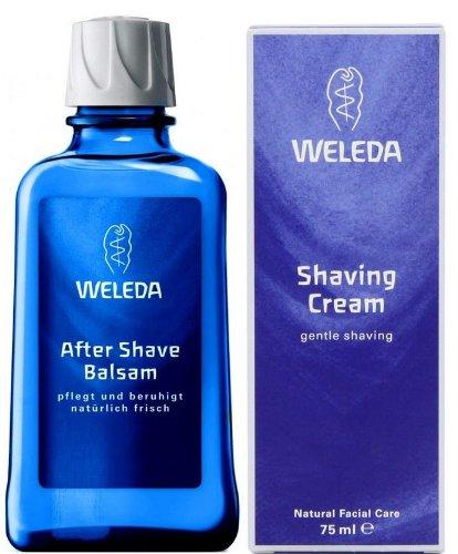 Weleda Rasierpflege - After Shave Balsam 100ml + Rasiercreme 75ml - Set