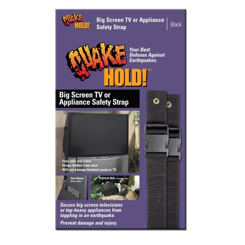 Quakehold! 4508 Big Screen and Appliance Strap by Quakehold!